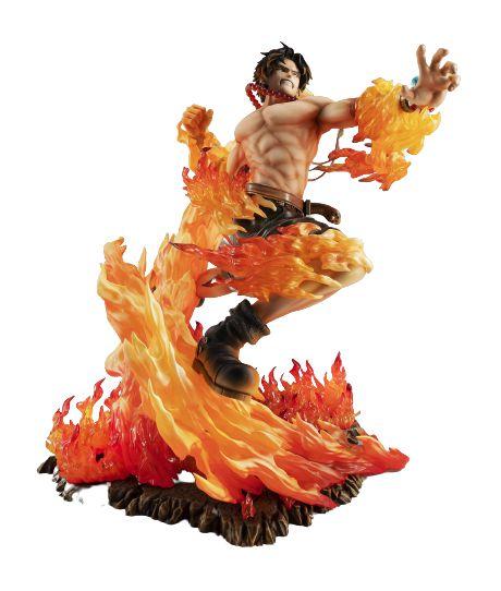 Diorama Portgas D Ace Battle 25 Cm - One Piece