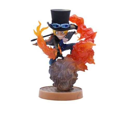 Figure Mini Diorama Sabo 12 cm - One Piece