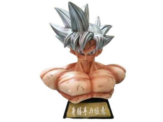Busto Goku Instinto Superior Dragon Ball Super - Animes Geek