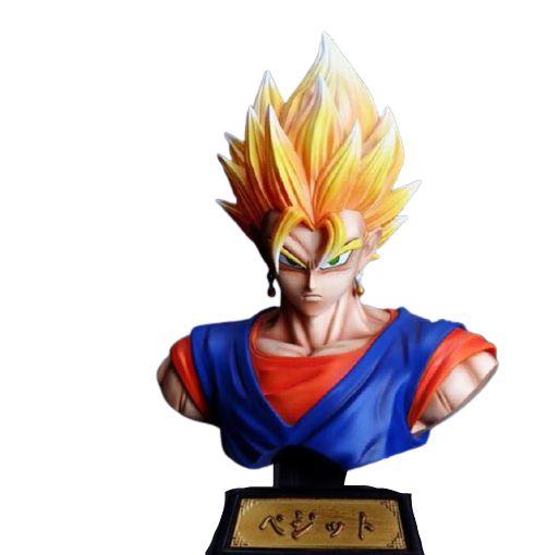 Busto Vegetto Super Saiyajin Dragon Ball Super - Animes Geek