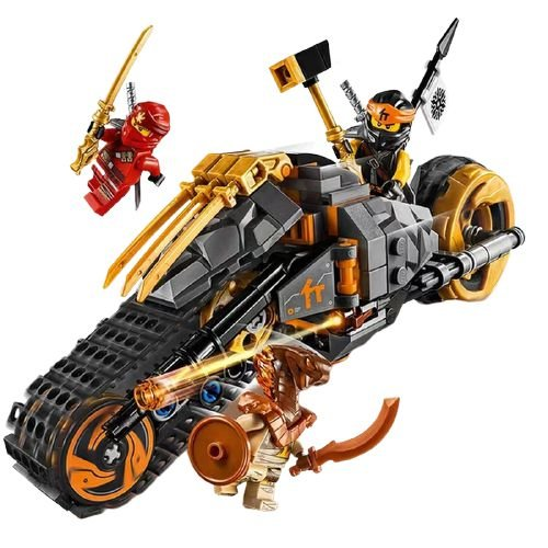 Ninjago Moto Off Road 212 peças - Blocos de Montar