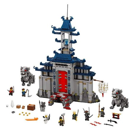 Ninjago Templo Ultimate Ninjago The Movie 1149 peças - Blocos de Montar