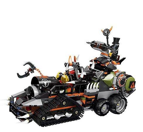 Tanque Diesel Ninjago 1179 peças - Blocos de Montar