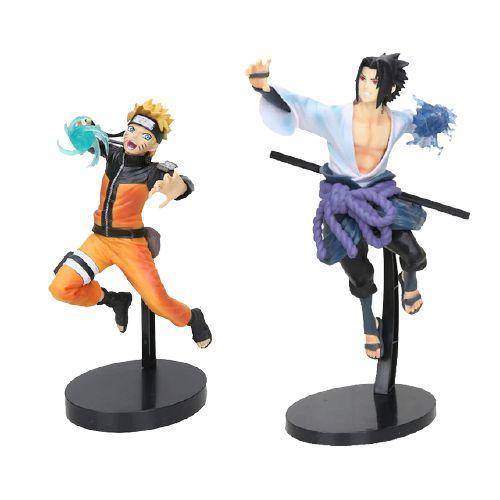 Kit 2 personagens Naruto Shippuden Naruto Rasengan e Sasuke Chidori - Animes Geek