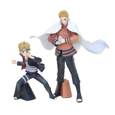 Kit 2 personagens Naruto Next Generations Boruto e Naruto - Animes Geek