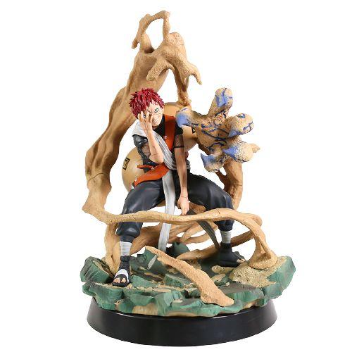 Estátua Gaara da Areia Versão Shukaku 28 cm - Naruto Clássico