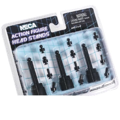 Stand para exposição Head Neca Head Stands blister com 3 peças - Neca