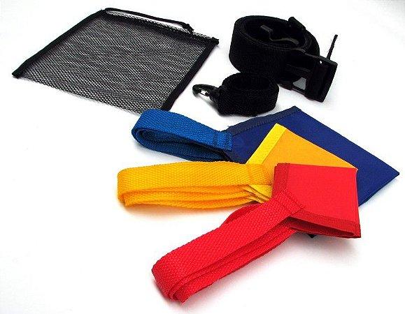 Kit de paraquedas para natação de 3 tamanhos
