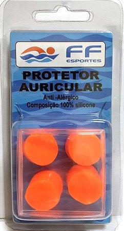 Tampão de Ouvido ou Protetor Auricular 100% Silicone