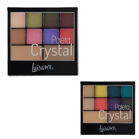 Paleta de Sombras Crystal L6055 Luisance