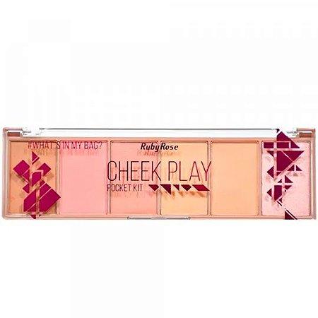 Paleta Cheek Play Pocket Kit Ruby Rose