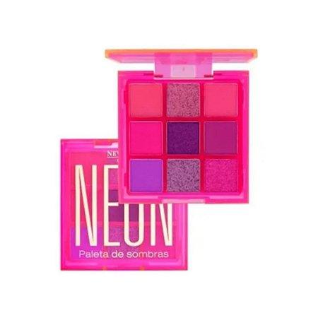Paleta De Sombras Neon New Face - Cor 3