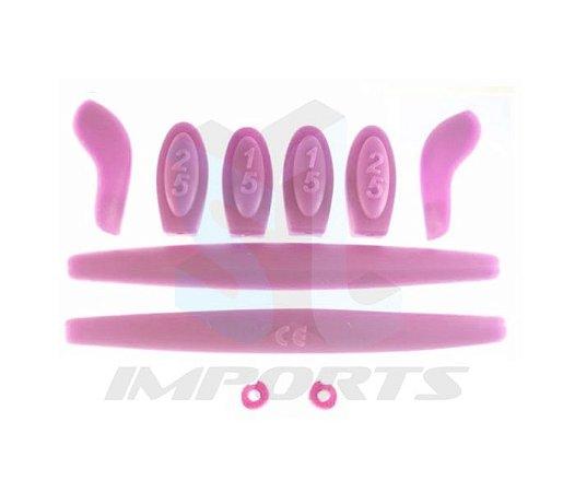 10e9e4556c Kit de Borracha Rosa Para - Juliet - SL IMPORTS