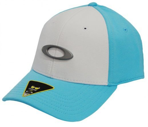 Boné Oakley Tincan - Branco com Azul Bebe - S M - Médio - SL IMPORTS 348dd582e4
