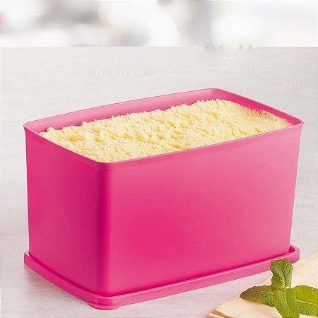 Tupperware Espaçosa 3 litros Rosa