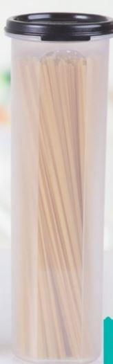 Tupperware Modular Redondo 5 1,1 litro Tampa Preta