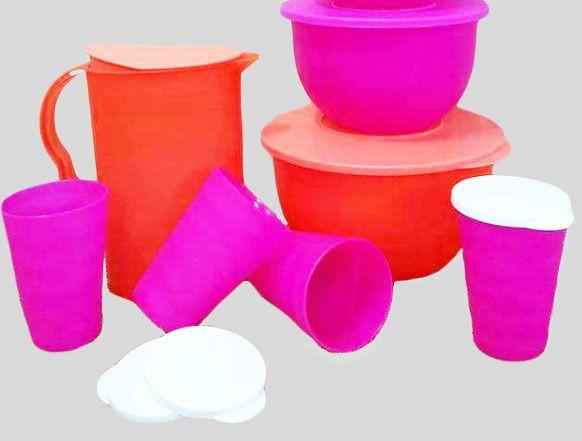Tupperware Kit 7 peças Neon Servir