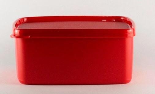 Tupperware Jeitosinho Vermelho 500ml Freezer