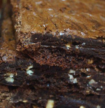 Brownie de Chocolate com Castanhas