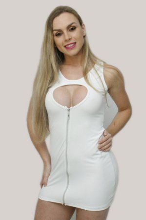 Minivestido sensual em Suplex JK13