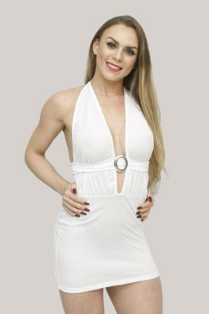 MINIVESTIDO SENSUAL TRANSPARENTE EM ELANCA LIGHT LY08