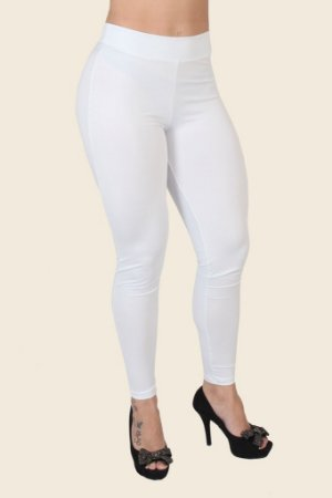 Legging Sensual em elanca light Transparente  LA03
