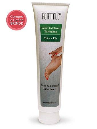 Creme Esfoliante Turmalina para mãos e pés