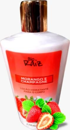 Creme Hidratante Body Lotion Strawberriees (morango) And Champagne