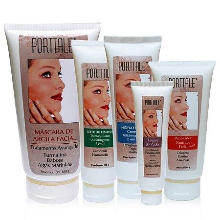 Kit Tratamento Facial - 5 Produtos