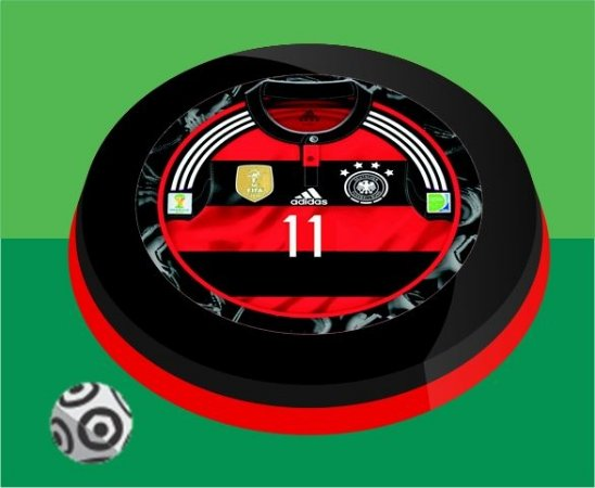Time de Botão Alemanha Copa 2014