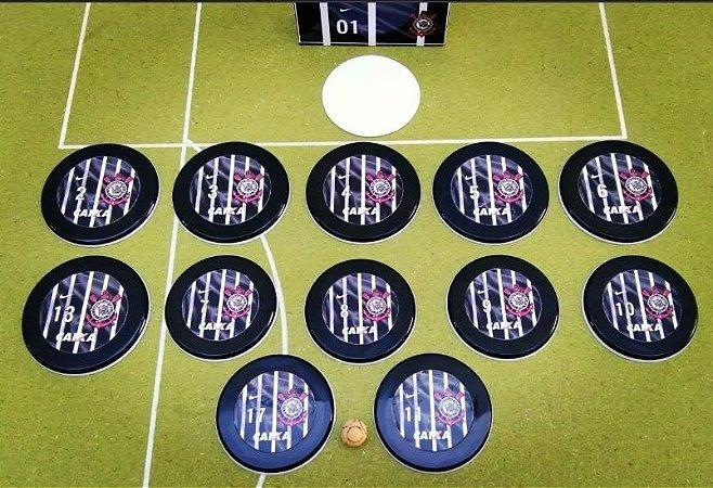 Time De Botão Do Corinthians (12 Botões)