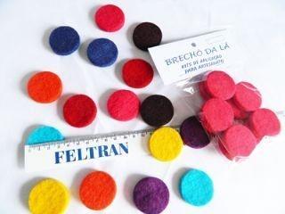 Bolinhas Coloridas Ø 35 mm