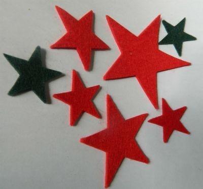 Estrelas - Kit Com 5 Peças