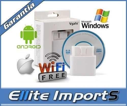 Scanner Automotivo Vgate Elm327 Com Interruptor + Bluetooth
