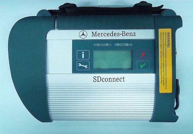 Scanner Mercedes C4 Star SD conect (Atualizado)+Notebook+Maleta de Aluminio