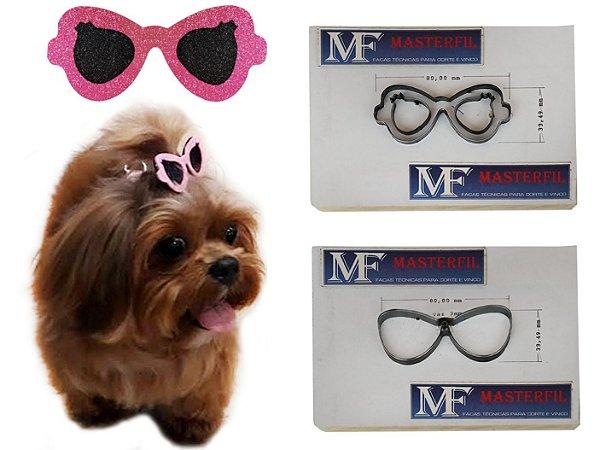 Faca Para Corte de Laços PET (Modelo Óculos A)