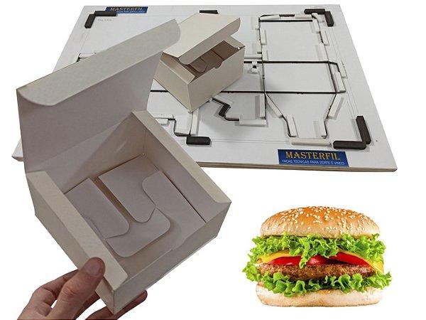 Faca Para Caixa de hamburguer