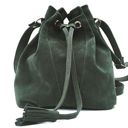 Bolsa saco verde musgo
