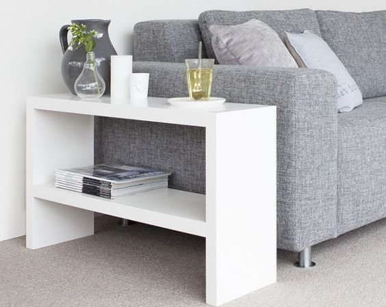 Mesa lateral para sofá