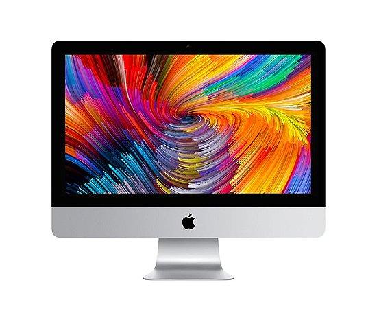 Apple iMac 2017 21,5 4K MNDY2BZ/A com Intel Core i5 quad core de 3,0GHz 8GB 1TB Radeon Pro 555 com 2 GB - MNDY2