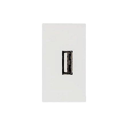 ILUS MÓDULO USB BIVOLT 5VCC CORRENTE MAX 1,5A BRANCO