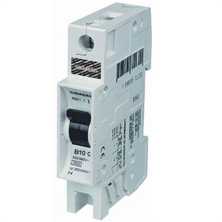 Disjuntor Monopolar 10A 380/3KA Siemens