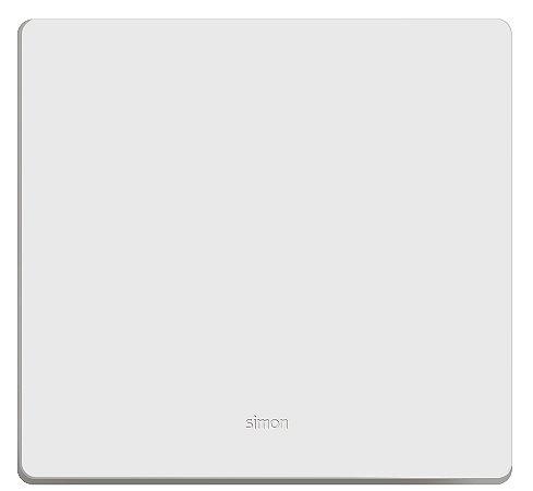 Simon 20 Placa 4x4 - Cega + Suporte