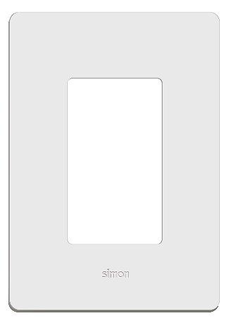 Placa 4 X 2 - 3 Postos Horizontais + Suporte - Simon 20