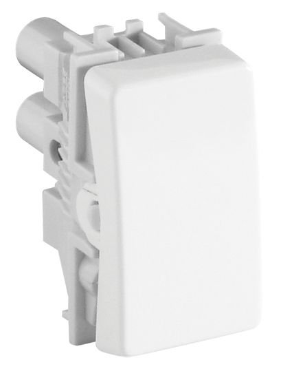 Módulo Interruptor Simples 10A 250V Branco Simon 19/Simon 20