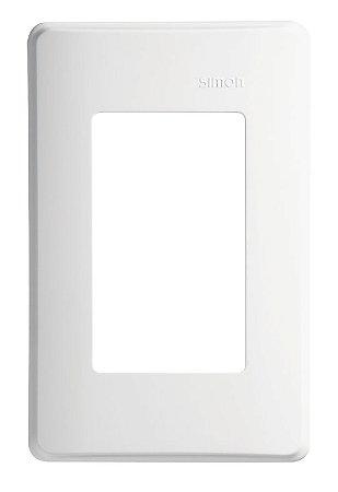 Simon 19 Placa 4x2 - 3 Postos Horizontais c/ Suporte