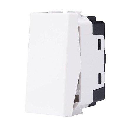 Módulo de Interruptor Simples Branco ABB Unno