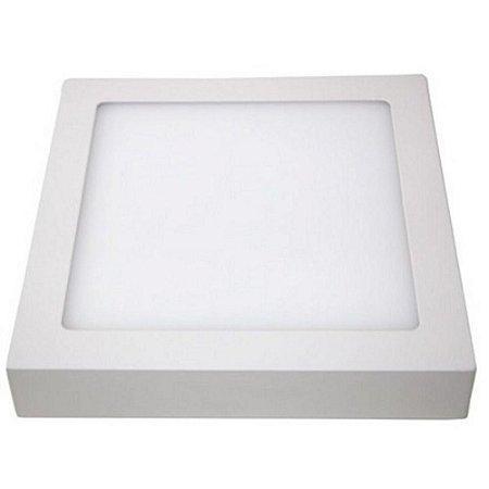 Painel de LED Quadrado de Sobrepor 24W Bivolt taschibra
