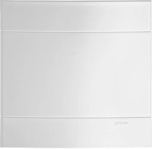 Placa 4x4 Cega Schneider Lunare Branca