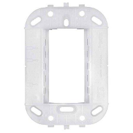 Lunare branco Suporte p/ Placas 4x2 Schneider